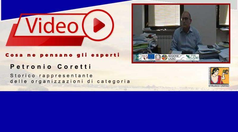 Petronio Coretti | Storico rappresentante delle organizzazioni di categoria