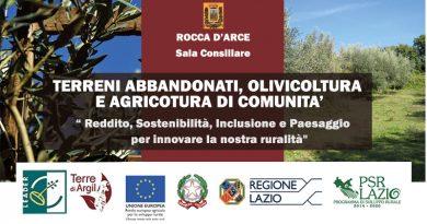 Terreni abbandonati, olivicoltura e agricoltura di comunità