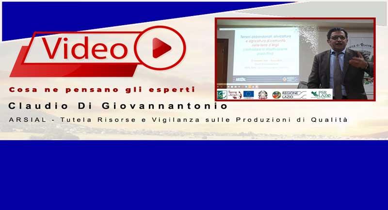 Claudio Di Giovannantonio |   ARSIAL – Tutela Risorse e Vigilanza sulle Produzioni di Qualità
