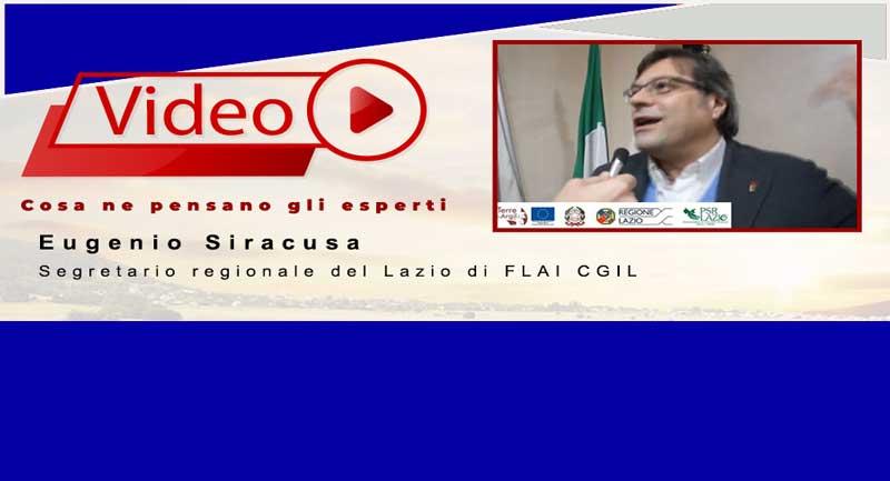 Eugenio Siracusa |   Segretario regionale del Lazio di FLAI CGIL