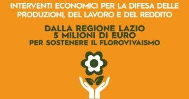 Florovivaismo, 5 mln di euro dalla Regione per sostenere il settore